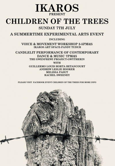North Wales Children of the Trees - A summertime experimental arts event 07.07.2019