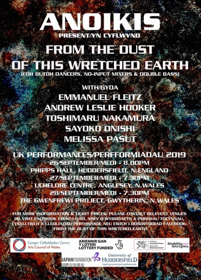 Wales From the Dust of This Wretched Earth 27&28.09.2019