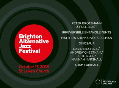 Brighton Alternative Jazz Festival April 2018