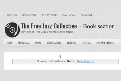 Free Jazz Collective Books section