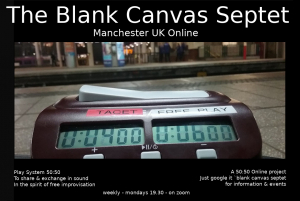 The Blank Canvas Septet - Manchester UK March 2021