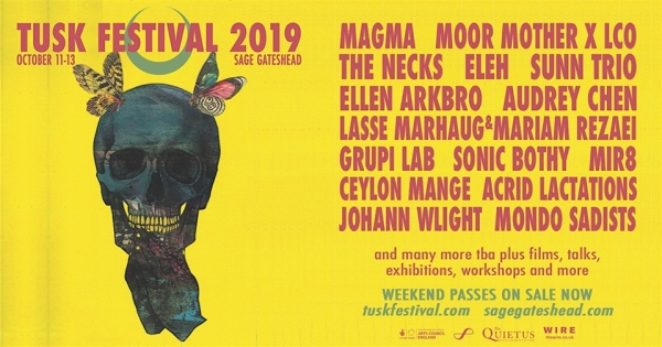 Newcastle TUSK Festival 11-13 October 2019