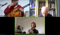 The Listening Room Online open call for a small acts for a small concert of free improvisation
