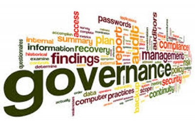 Governance of the site, content and development