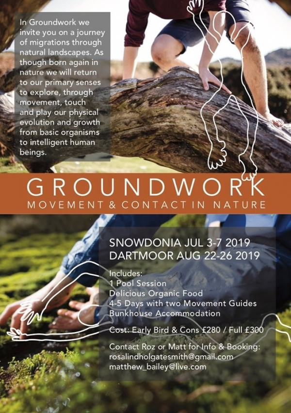 Snowdonia - Groundwork July 3rd-5th